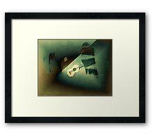 Ukulele Framed Print