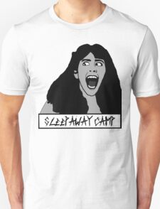 Angela- Sleepaway Camp with Title Unisex T-Shirt