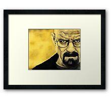 Breaking Bad- Heisenberg Framed Print