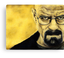 Breaking Bad- Heisenberg Canvas Print