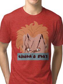 Chucky- Child's Play Tri-blend T-Shirt
