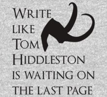 Tom Hiddleston Waits on the Last Page One Piece - Long Sleeve
