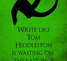 Tom Hiddleston Waits on the Last Page by Elantris