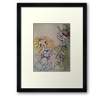 Wooden Wonderland  Framed Print