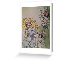 Wooden Wonderland  Greeting Card