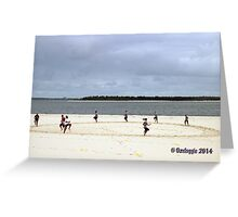 Dolls Point - NSW - Bootcamp  Greeting Card