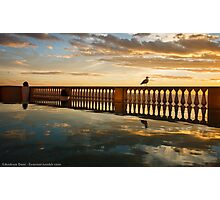 Sunset in Livorno Photographic Print