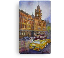 Flinders Street, Melbourne 1 Canvas Print