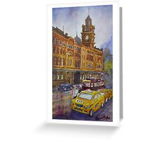 Flinders Street, Melbourne 1 Greeting Card