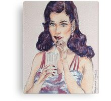Retro Chic Canvas Print