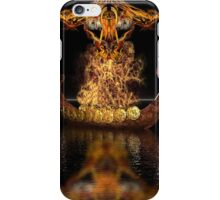 Viking funeral iPhone Case/Skin