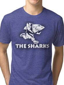 NATAL SHARKS FOR DARK SHIRTS SOUTH AFRICA RUGBY SUPER RUGBY Tri-blend T-Shirt