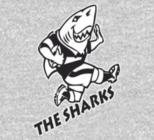 NATAL SHARKS FOR DARK SHIRTS SOUTH AFRICA RUGBY SUPER RUGBY One Piece - Long Sleeve