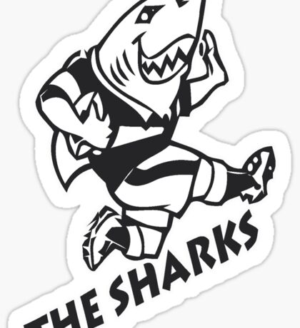 NATAL SHARKS FOR DARK SHIRTS SOUTH AFRICA RUGBY SUPER RUGBY Sticker