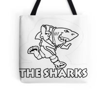 NATAL SHARKS FOR DARK SHIRTS SOUTH AFRICA RUGBY SUPER RUGBY  Tote Bag