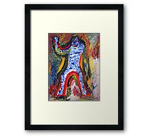 THE GOOD BEING Framed Print