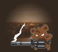 teddy with a chaingun by digitalstoff