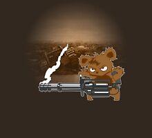 teddy with a chaingun Unisex T-Shirt