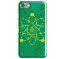 Modern Graphic Atomic Structure iPhone Case/Skin