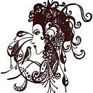 Tattoo Girl by inezadora