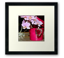 Gifted with love Framed Print