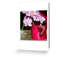 Gifted with love Greeting Card