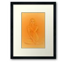 Cerridwen - Monochrome Framed Print
