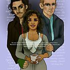 The Vampire, The Ghost and The Werewolf by tonksiford