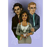 The Vampire, The Ghost and The Werewolf Photographic Print