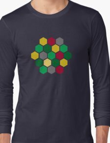 Minimalist Catan Long Sleeve T-Shirt