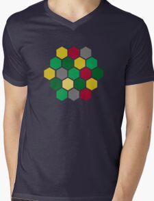 Minimalist Catan Mens V-Neck T-Shirt