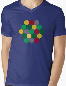 Minimalist Catan Mens V-Neck T-Shirt
