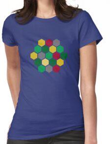Minimalist Catan Womens Fitted T-Shirt