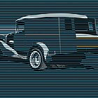 SURF TRUCK OCEAN BLUE by COLIN TRESADERN