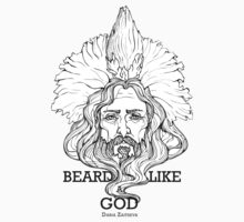 Beard Like A God by mijumi