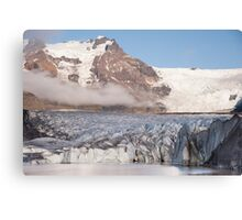 Svinafellsjokul glacier Canvas Print