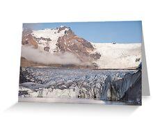 Svinafellsjokul glacier Greeting Card