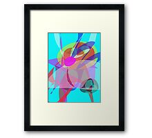Water World Framed Print