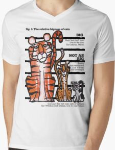 Bigness of cats top T-Shirt
