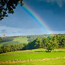 Peak District Rainbow by Jason Smalley