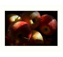 Some Apples for Luther Art Print