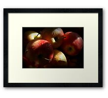 Some Apples for Luther Framed Print