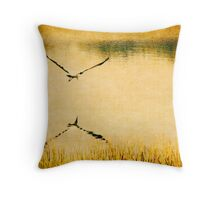 Fiddler's Creek Flight over Pond Throw Pillow
