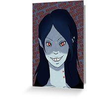 Vampire Queen Greeting Card