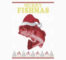 Merry Fishmas Baby Tee