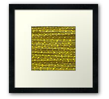 AWESOME, use caution Framed Print