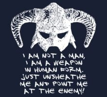 You are the Dragonborn. One Piece - Long Sleeve