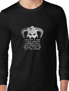 You are the Dragonborn. Long Sleeve T-Shirt