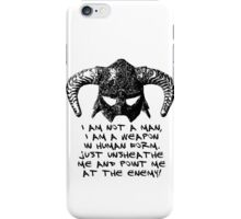 You are the Dragonborn. iPhone Case/Skin