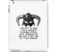 You are the Dragonborn. iPad Case/Skin